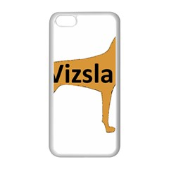 Vizsla Name Silo Color Apple iPhone 5C Seamless Case (White)