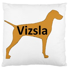 Vizsla Name Silo Color Standard Flano Cushion Case (One Side)