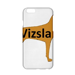 Vizsla Name Silo Color Apple iPhone 6/6S Hardshell Case
