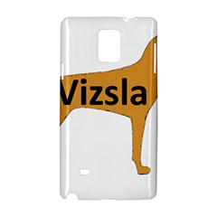 Vizsla Name Silo Color Samsung Galaxy Note 4 Hardshell Case