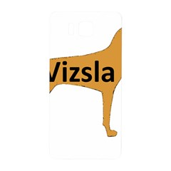 Vizsla Name Silo Color Samsung Galaxy Alpha Hardshell Back Case