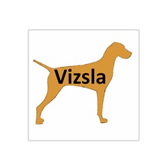 Vizsla Name Silo Color Satin Bandana Scarf