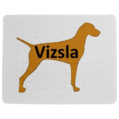Vizsla Name Silo Color Jigsaw Puzzle Photo Stand (Rectangular)