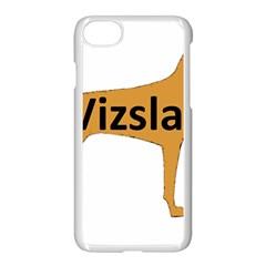 Vizsla Name Silo Color Apple iPhone 7 Seamless Case (White)