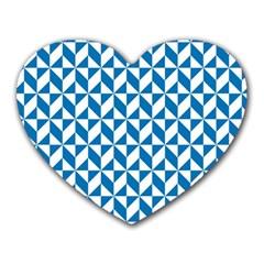 Pattern Heart Mousepads
