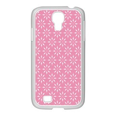 Pattern Samsung GALAXY S4 I9500/ I9505 Case (White)