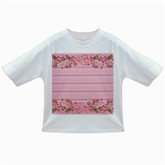 Pink Peony Outline Romantic Infant/toddler T Shirts