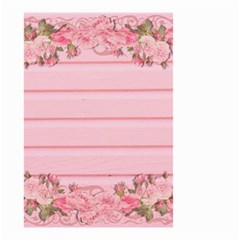Pink Peony Outline Romantic Small Garden Flag (Two Sides)