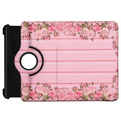 Pink Peony Outline Romantic Kindle Fire HD 7