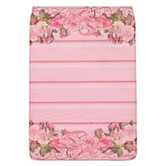 Pink Peony Outline Romantic Flap Covers (L)
