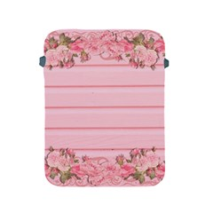 Pink Peony Outline Romantic Apple iPad 2/3/4 Protective Soft Cases