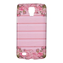 Pink Peony Outline Romantic Galaxy S4 Active