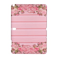 Pink Peony Outline Romantic Galaxy Note 1