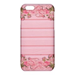 Pink Peony Outline Romantic iPhone 6/6S TPU Case