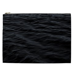 Dark Lake Ocean Pattern River Sea Cosmetic Bag (XXL)