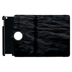 Dark Lake Ocean Pattern River Sea Apple iPad 2 Flip 360 Case