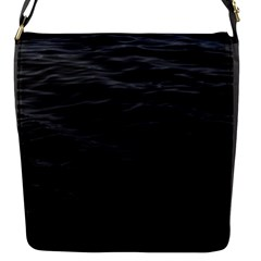 Dark Lake Ocean Pattern River Sea Flap Messenger Bag (S)