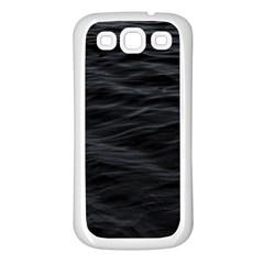 Dark Lake Ocean Pattern River Sea Samsung Galaxy S3 Back Case (White)