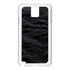 Dark Lake Ocean Pattern River Sea Samsung Galaxy Note 3 N9005 Case (White)