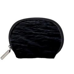 Dark Lake Ocean Pattern River Sea Accessory Pouches (Small)