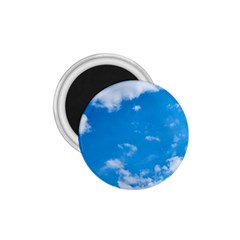 Sky Blue Clouds Nature Amazing 1.75  Magnets