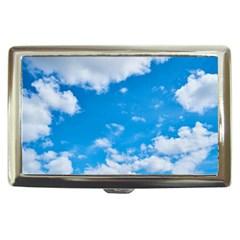 Sky Blue Clouds Nature Amazing Cigarette Money Cases