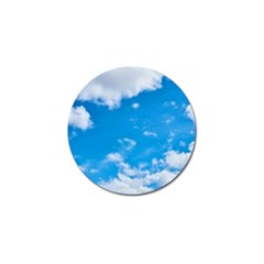 Sky Blue Clouds Nature Amazing Golf Ball Marker (4 pack)