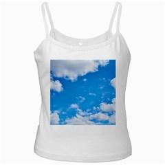Sky Blue Clouds Nature Amazing Ladies Camisoles
