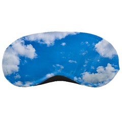 Sky Blue Clouds Nature Amazing Sleeping Masks