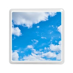 Sky Blue Clouds Nature Amazing Memory Card Reader (square)