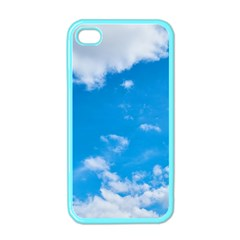 Sky Blue Clouds Nature Amazing Apple iPhone 4 Case (Color)