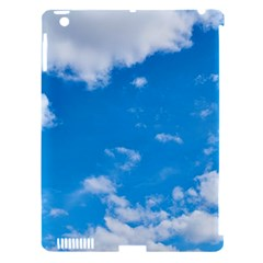 Sky Blue Clouds Nature Amazing Apple iPad 3/4 Hardshell Case (Compatible with Smart Cover)