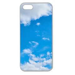 Sky Blue Clouds Nature Amazing Apple Seamless iPhone 5 Case (Clear)