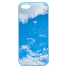 Sky Blue Clouds Nature Amazing Apple Seamless iPhone 5 Case (Color)