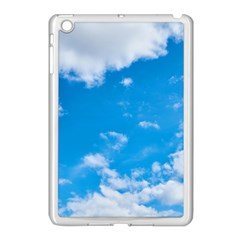 Sky Blue Clouds Nature Amazing Apple Ipad Mini Case (white)