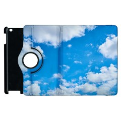 Sky Blue Clouds Nature Amazing Apple iPad 2 Flip 360 Case
