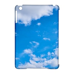 Sky Blue Clouds Nature Amazing Apple Ipad Mini Hardshell Case (compatible With Smart Cover)