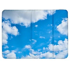 Sky Blue Clouds Nature Amazing Samsung Galaxy Tab 7  P1000 Flip Case