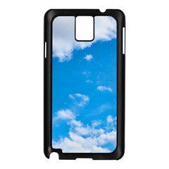 Sky Blue Clouds Nature Amazing Samsung Galaxy Note 3 N9005 Case (black)