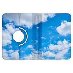 Sky Blue Clouds Nature Amazing Kindle Fire HDX Flip 360 Case