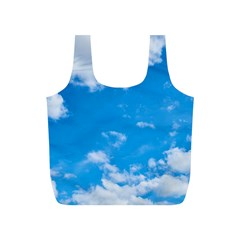 Sky Blue Clouds Nature Amazing Full Print Recycle Bags (S)
