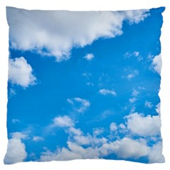 Sky Blue Clouds Nature Amazing Standard Flano Cushion Case (Two Sides)