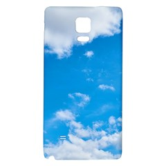 Sky Blue Clouds Nature Amazing Galaxy Note 4 Back Case