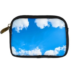Sky Clouds Blue White Weather Air Digital Camera Cases