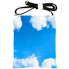 Sky Clouds Blue White Weather Air Shoulder Sling Bags