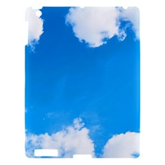 Sky Clouds Blue White Weather Air Apple iPad 3/4 Hardshell Case