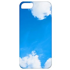 Sky Clouds Blue White Weather Air Apple iPhone 5 Classic Hardshell Case