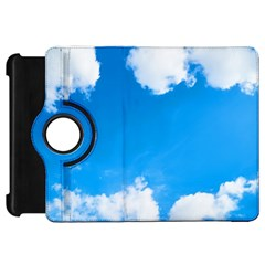 Sky Clouds Blue White Weather Air Kindle Fire HD 7