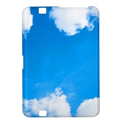 Sky Clouds Blue White Weather Air Kindle Fire HD 8.9