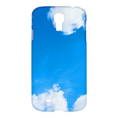 Sky Clouds Blue White Weather Air Samsung Galaxy S4 I9500/I9505 Hardshell Case